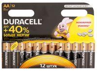 Батарейка DURACELL AA LR6 MN1500 Alkaline (12 шт)