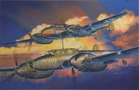 "Самолет ""Мессершмитт BF110D/E Night Fighter. WING TECH"" (масштаб: 1/32)"
