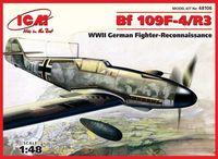 Германский истребитель разведки Bf 109F-4/R3 (масштаб: 1/48)