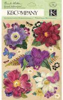 """Стикеры для скрапбукинга """"Флора и фауна. Цветы"""""""