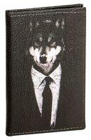 """Обложка на паспорт """"Волк"""""""