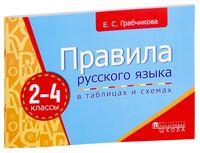 Правила русского языка в таблицах и схемах. 2-4 классы