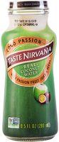 """Вода кокосовая """"Taste Nirvana. С соком и семенами маракуйя"""" (280 мл)"""