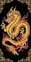 """Вышивка бисером """"Китайский дракон"""""""