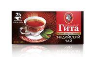 """Чай черный """"Принцесса Гита. Индийский"""" (25 пакетиков)"""