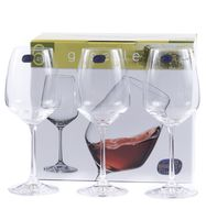 """Бокал для вина стеклянный """"Giselle"""" (6 шт.; 455 мл)"""