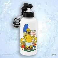 """Бутылка для воды """"Симпсоны"""" (600 мл)"""