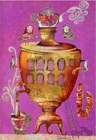 """Магнит на холодильник """"Горячий чай"""" (арт. 11.03)"""