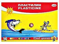 """Пластилин """"Юный художник"""" (16 цветов)"""