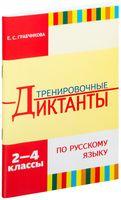 Тренировочные диктанты по русскому языку. 2-4 классы