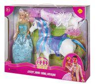 """Кукла """"Принцесса с лошадкой"""""""