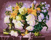 "Картина по номерам ""Натюрморт с Буддой"" (400х500 мм)"