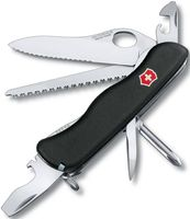 """Нож Victorinox """"Trailmaster One Hand Wavy Edge"""" (12 функций; чёрный)"""