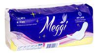"""Гигиенические прокладки """"Meggi Super+"""" ночные (10 шт.)"""