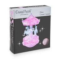 "Пазл-головоломка ""Crystal Puzzle. Розовая карусель"" (83 элемента)"