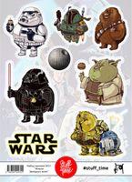 """Набор бумажных наклеек №31 """"Звездные войны"""" (арт. 0031)"""