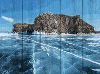 "Картина по номерам ""Байкальский лёд"" (400х500 мм)"