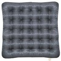 "Подушка на стул ""Ecology"" (40х40 см; тёмно-серая)"