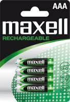 Аккумуляторы AAA 900 mAh Maxell (4 шт.)