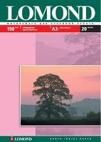 Глянцевая фотобумага Lomond (20 листов, 150 г/м2, формат А3)