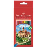 "Цветные карандаши Faber-Castell ""ЗАМОК"" (12 цветов)"