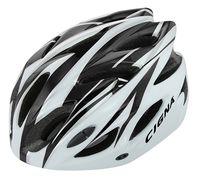 """Шлем велосипедный """"WT-012"""" (чёрный/белый)"""