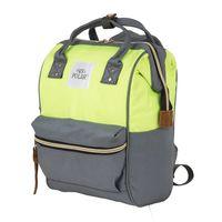 Рюкзак 17198 (13 л; серый/салатовый)