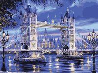 """Картина по номерам """"Лондонская ночь"""" (400х500 мм)"""