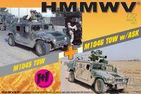 """Набор миниатюр """"M1045 TOW & M1046 TOW w/ASK"""" (масштаб: 1/72)"""