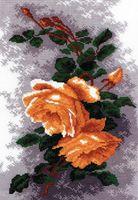 """Вышивка крестом """"Розы желтые"""" (270x190 мм)"""