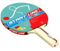 """Ракетка для настольного тенниса """"Level 100"""" (прямая; арт. 60213)"""