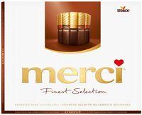 "Набор шоколада темного ""Merci"" (250 г)"