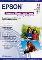 Высококачественная глянцевая фотобумага Epson (20 листов, 255 г/м2, A3)