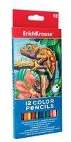 Цветные карандаши с треугольным профилем (12 цветов)