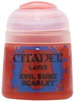 """Краска акриловая """"Citadel Layer"""" (evil sunz scarlet; 12 мл)"""
