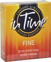 "Презервативы ""In Time. Fine"" (3 шт.)"