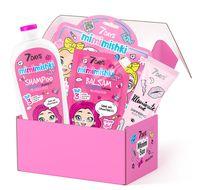 """Подарочный набор """"7 DAYS Minimi Box №101"""" (шампунь и бальзам для волос, пилинг-скатка для ног, BB-флюид для лица)"""