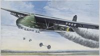 """Транспортный планер """"ME-321 B-1 Gigant Glider"""" (масштаб: 1/72)"""