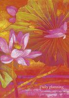 """Ежедневник недатированный """"Water lilies. О любви"""" (А6+, 168 листов)"""