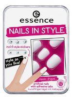 "Накладные ногти ""Nails in style"" (тон 01; 12 шт)"