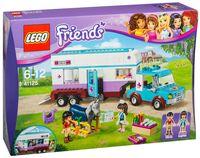"""LEGO Friends """"Ветеринарная машина для лошадок"""""""