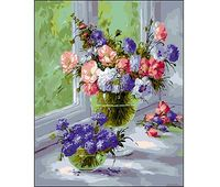 "Картина по номерам ""Две вазы"""