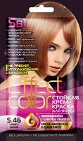 """Крем-краска для волос """"Effect Сolor"""" (тон: 5.46, медно-рыжий)"""
