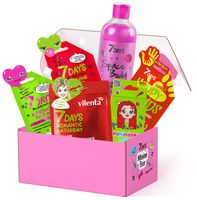 """Подарочный набор """"7 DAYS Minimi Box №104"""" (BB-флюид для лица, гель для тела, концентрат для волос, маска для лица, крем для рук, гель для душа)"""