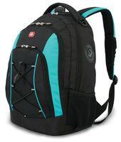 Рюкзак WENGER (28 литров, черный/синий)