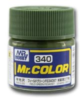 Краска Mr. Color (field green, C340)