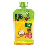 """Пюре детское """"Bob Snail. Смузи Манго-Кокос-Лимон"""" (120 г)"""