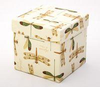 """Подарочная коробка """"Dragon-flies"""" (11х11х11 см)"""