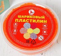 Пластилин шариковый (оранжевый; арт. Р1261)