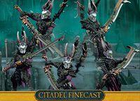 """Набор миниатюр """"Warhammer 40.000. Finecast: Dark Eldar Incubi"""" (45-40)"""
